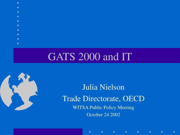 gats 2000 and it n.