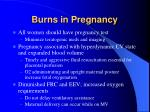 burns in pregnancy1