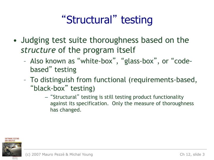 Structural testing1