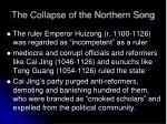 the collapse of the northern song