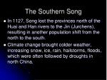 the southern song
