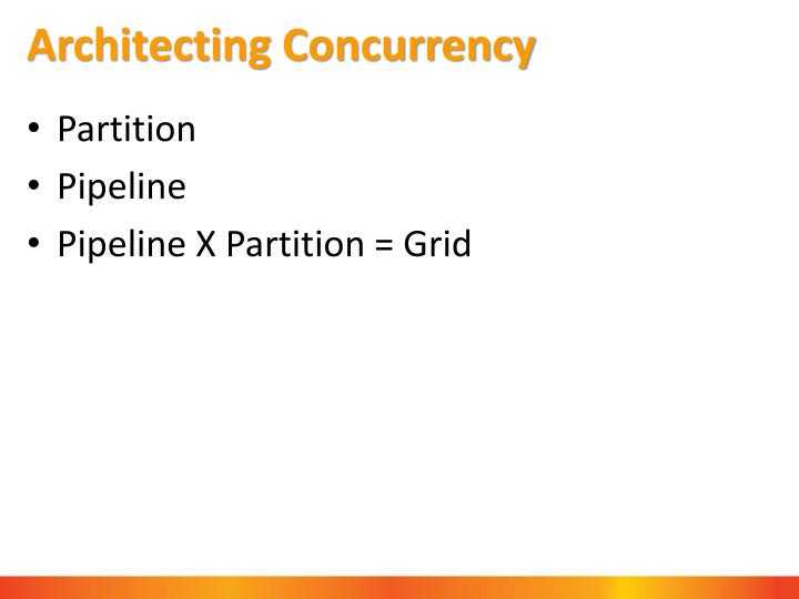 Architecting Concurrency