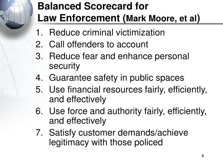 Balanced Scorecard for