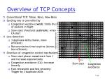 overview of tcp concepts