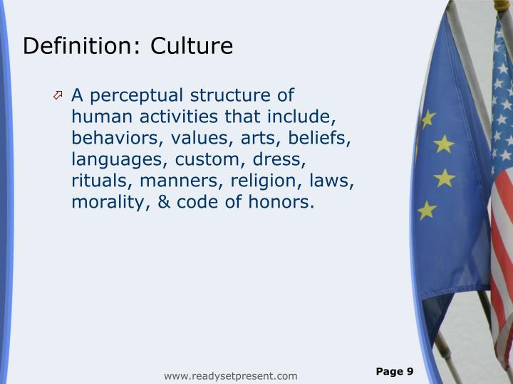 Definition: Culture
