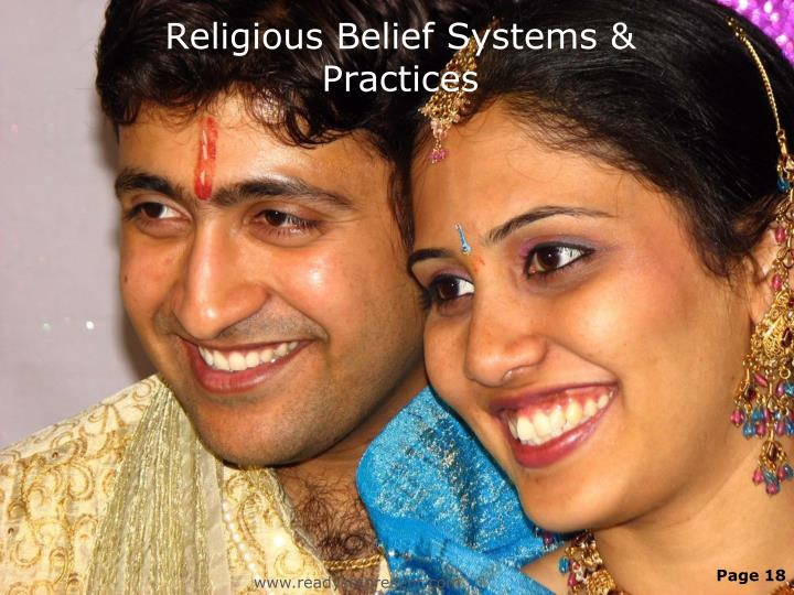 Religious Belief Systems & Practices