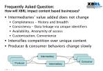 frequently asked question how will xbrl impact content based businesses