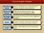 terminologjite mediale