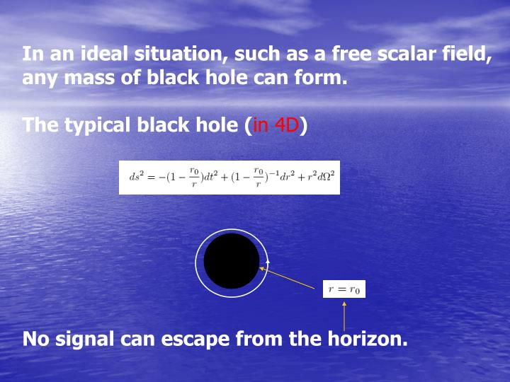 In an ideal situation, such as a free scalar field,