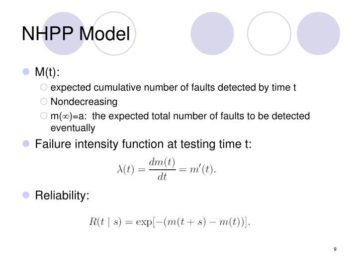 NHPP Model