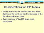 considerations for iep teams1