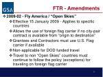 ftr amendments2