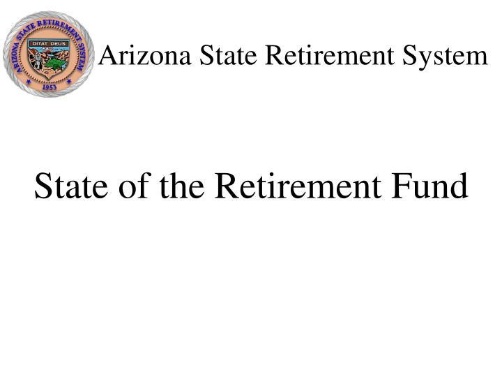 Arizona state retirement system2