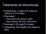 tratamiento de onicomicosis