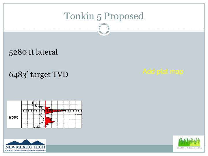 Tonkin 5 Proposed