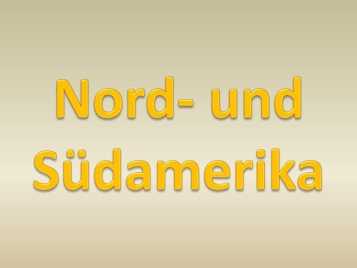 Nord- und