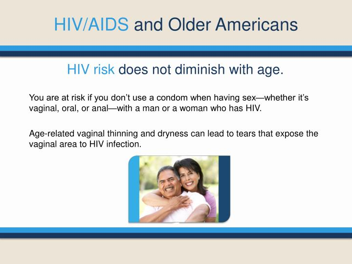 Hiv aids and older americans1