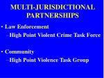 multi jurisdictional partnerships