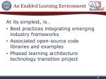 an enabled learning environment