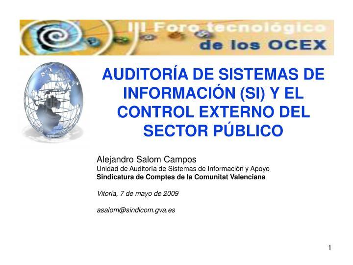 Alejandro Salom Campos
