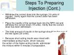 steps to preparing injection cont1
