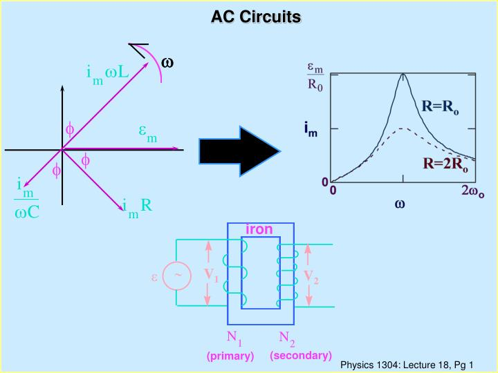 PPT - AC Circuits PowerPoint Presentation - ID:1327590