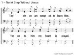 1 not a step without jesus1