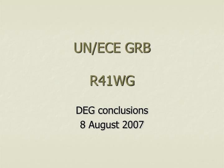 un ece grb r41wg n.