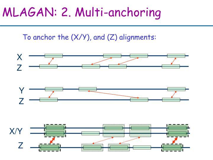 MLAGAN: 2. Multi-anchoring