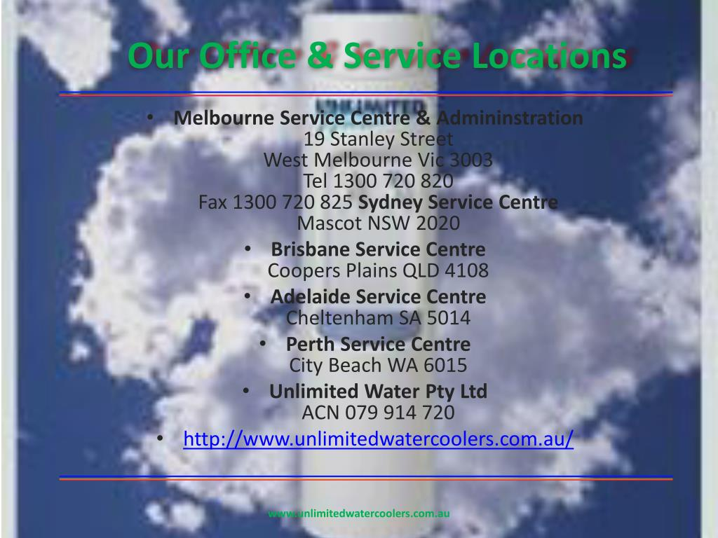 Our Office & Service Locations