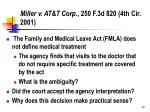 miller v at t corp 250 f 3d 820 4th cir 2001