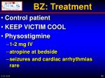 bz treatment