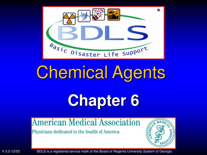 chemical agents n.
