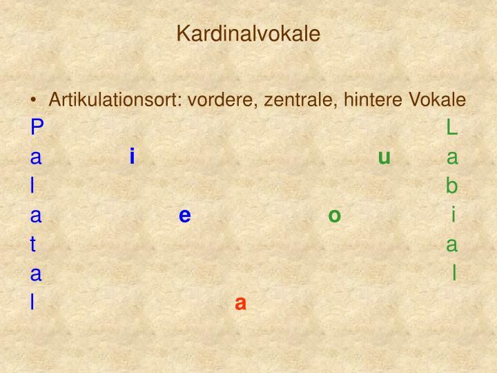 Kardinalvokale