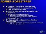 adprep forestprep1