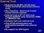 external trust