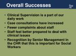 overall successes