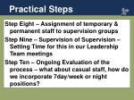 practical steps2