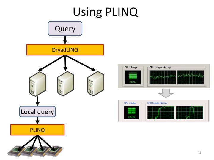 Using PLINQ