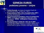 geneza eures podstawy prawne unijne