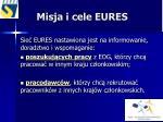 misja i cele eures1