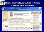 strona internetowa eures w polsce www eures praca gov pl