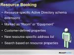 resource booking
