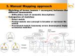 3 manual mapping approach