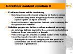 gazetteer content creation ii