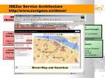 idezar service architecture http www zaragoza es idezar