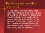 the victory over antichrist chs 17 1913