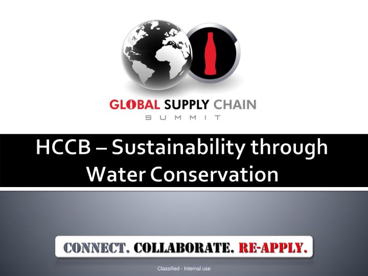 hccb sustainability through water conservation n.