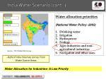 india water scenario cont