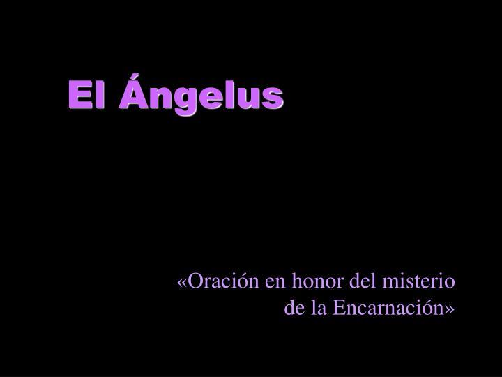 El Ángelus